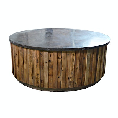 "Revelation by Uttermost ""Finnegan"" Rustic Coffee Table, Contemporary"