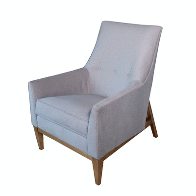 "Rowe Furniture ""Thatcher"" Upholstered Lounge Chair, Contemporary"