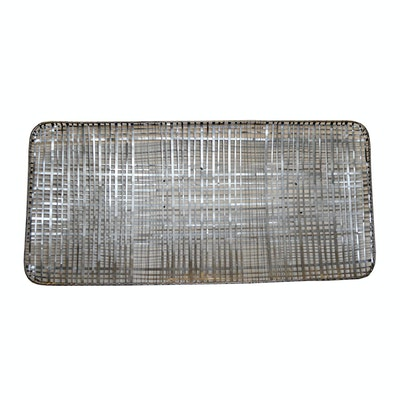 Sculptural Woven Metal Wall Decor, Contemporary