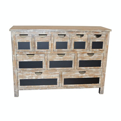 Home Meridian Apothecary Style Accent Chest, Contemporary