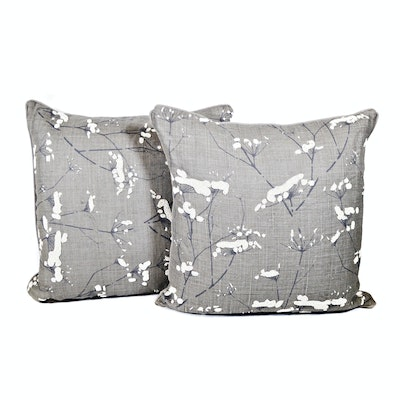Candice Olson by Surya Gray Beaded Accent Pillows