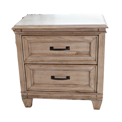 "Liberty Furniture ""Grayton Grove"" Two Drawer Nightstand, Contemporary"