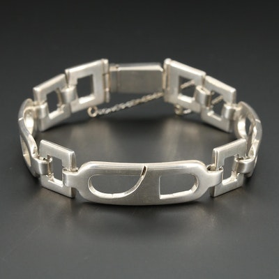 Mexican Taxco Sterling Silver Bracelet