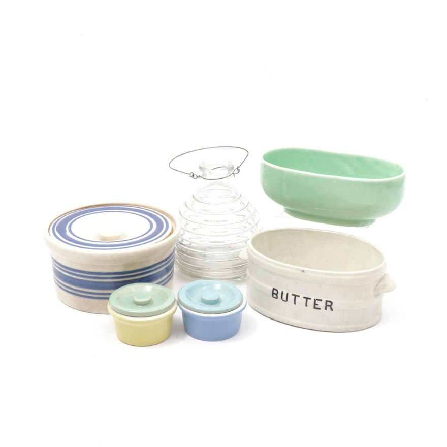 Haeger, Hall and More Ceramic and Glass Tableware