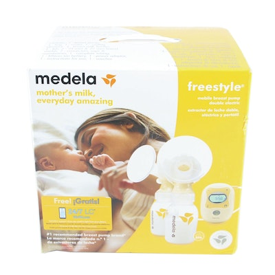 Medela Freestyle Mobile Double Electric Breast Pump, Factory Sealed