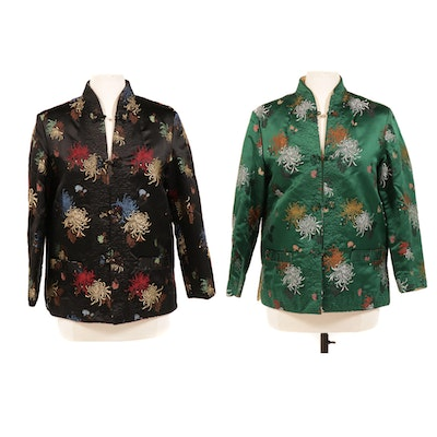 Reversible Chinese Embroidered Jackets