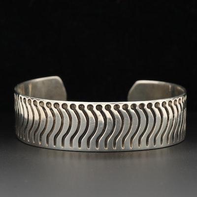Mexico Sterling Silver Cuff