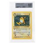 1999 Base 1st Edition #14 Raichu Holo R Professionally Graded Pokémon Card