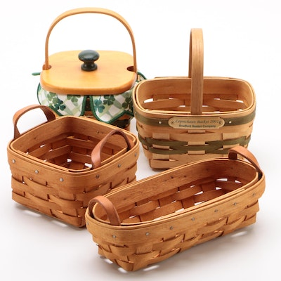 Longaberger and Bradford Hand-Woven Baskets, 1990s–2000s