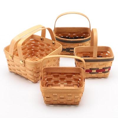 Bradford Hand-Woven Miniature Baskets, 1999–2000