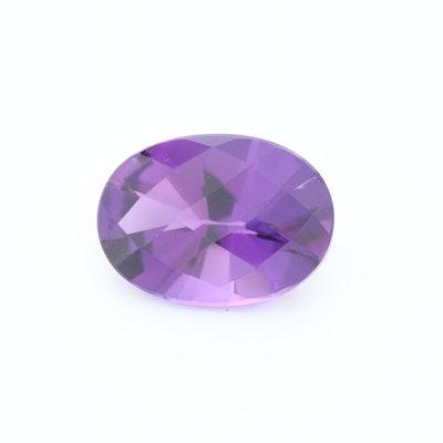 Loose 11.40 CT Amethyst Gemstone