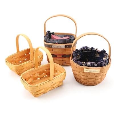 Longaberger Handwoven Baskets including Inaugural Basket