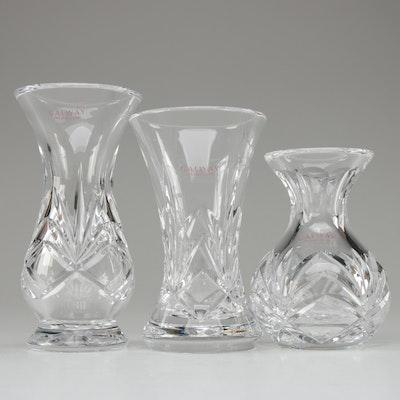 """Galway """"Kylemore"""" Crystal Bulb Vases"""