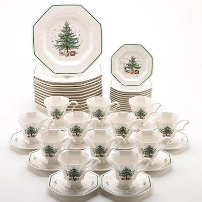 "Nikko ""Christmastime"" Ceramic Dinnerware"