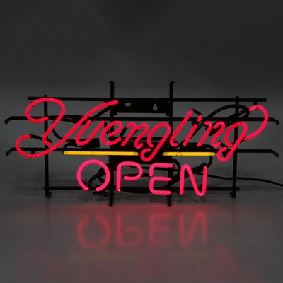 """Yuengling """"OPEN"""" Store Neon Sign"""