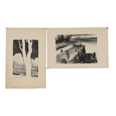 Thomas Brownell Eldred Lithographs