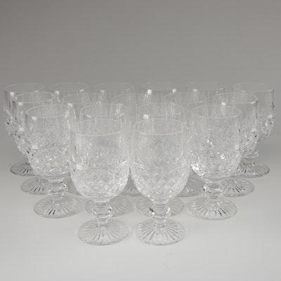 """Stuart """"Montrose"""" Crystal Water Goblets"""