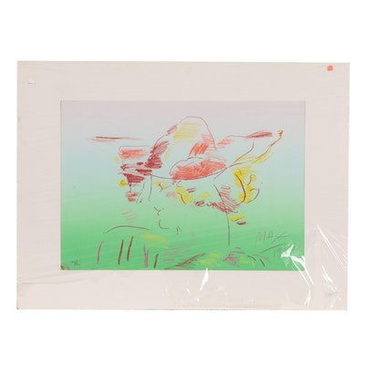 "Peter Max Limited Edition Lithograph ""The Dream"""