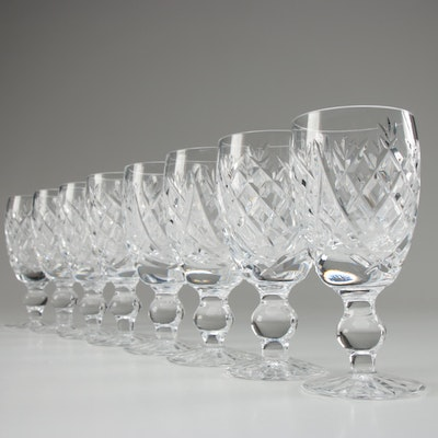 """Waterford Crystal """"Donegal"""" Sherry Glasses, Late 20th Century"""