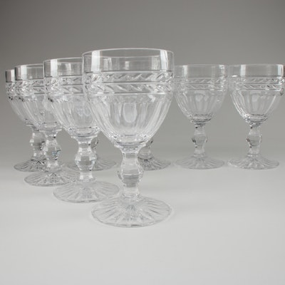"""Mikasa """"Palma"""" Crystal Water Goblets"""