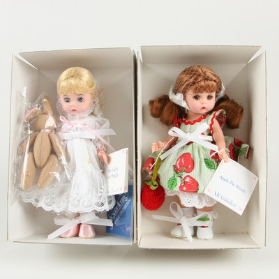"Madame Alexander ""Star Light, Star Bright"" and ""Apple Pie Wendy"" Dolls"