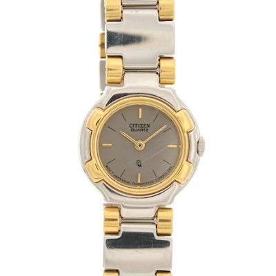 Citizen Two Tone Quartz Wristwatch