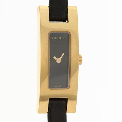Gucci 3900L Gold Tone Quartz Wristwatch