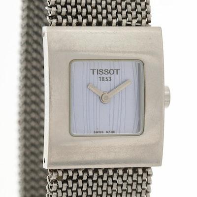 Tissot Bellflower Stainless Steel Quartz Wristwatch