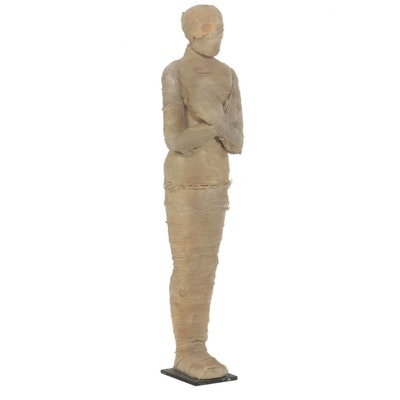 Life-Sized Upright Mummy Prop