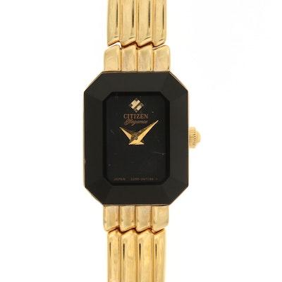 Citizen Elegance Gold Tone Quartz Wristwatch