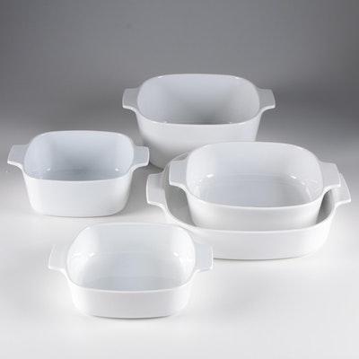"""CorningWare """"White Coupe"""" Baking Dishes"""