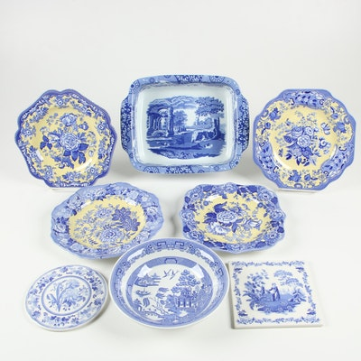 "Spode ""Italian"", ""British Flowers"" Dinnerware and Bakeware"