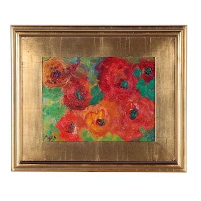 "Claire McElveen Oil Painting ""Solstice"""