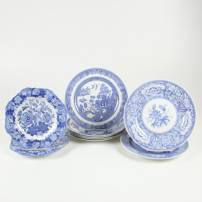 "Spode ""Blue Room Collection"" English Transferware Dinnerware"