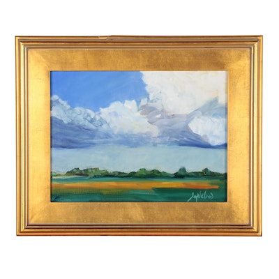 """Jay Wilford Oil Painting """"Pastoral"""""""