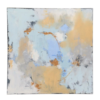 """Sarah Brown Oil Painting """"Abstract XVIII"""""""