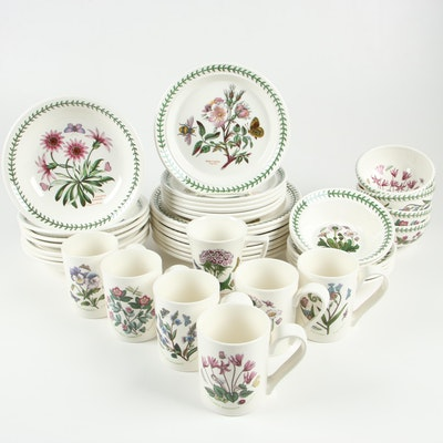 "Contemporary Portmeirion ""Botanic Garden"" Dinnerware"