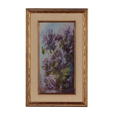 Walburga Schauer Floral Oil Painting