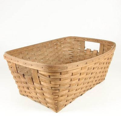 Longaberger Laundry Basket, Late 20th Century