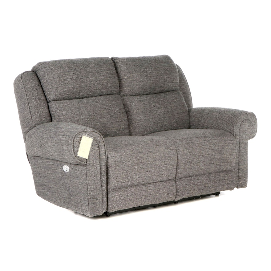 Southern Motion Electric Reclining Upholstered Loveseat