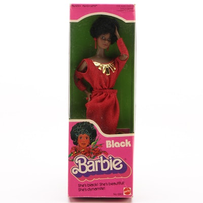 "Mattel ""Black Barbie"", Sealed in Box, 1979"
