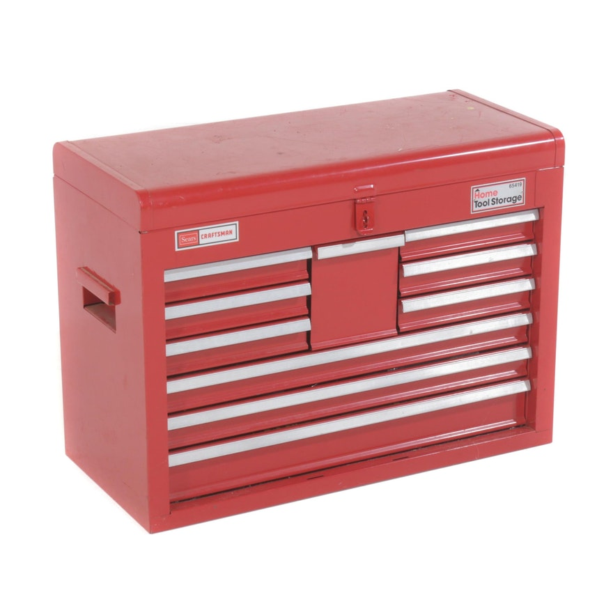 Sears Craftsman Tool Chest with Tools