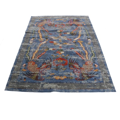 "8'7 x 11'5 Barclay Butera ""Dynasty"" Power-Loomed Chinese Rug"