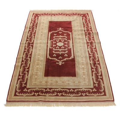 6'7 x 9'10 Hand-Knotted Turkish Village Rug
