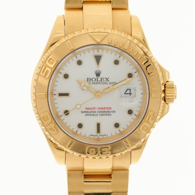 Rolex Yacht-Master 16628 18K Yellow Gold Automatic Wristwatch