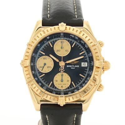 Breitling Chronomat 18K Yellow Gold Automatic Wristwatch
