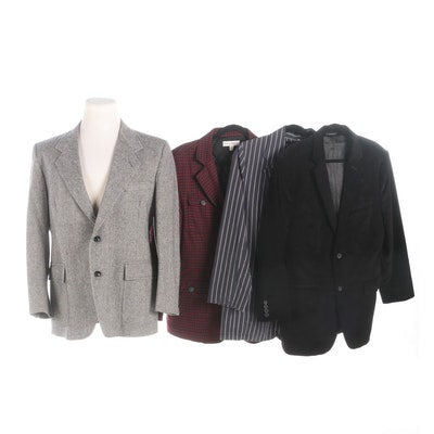 Men's Sport Coats Including Pendleton, Brooklyn Industries, Mossimo and Express