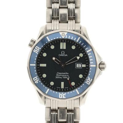 Omega Seamaster 300M Stainless Steel Quartz Wristwatch