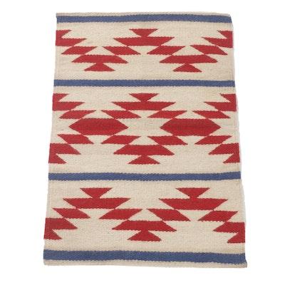 2'3 x 3'4 Handwoven Southwest Style Kilim Rug