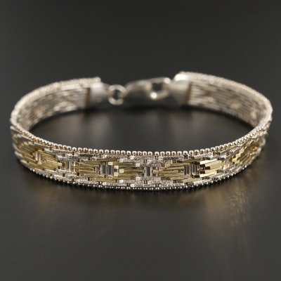 Sterling Silver Riccio Bracelet
